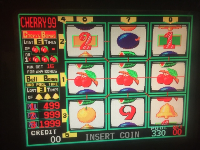 Cherry Master Gambling Machine