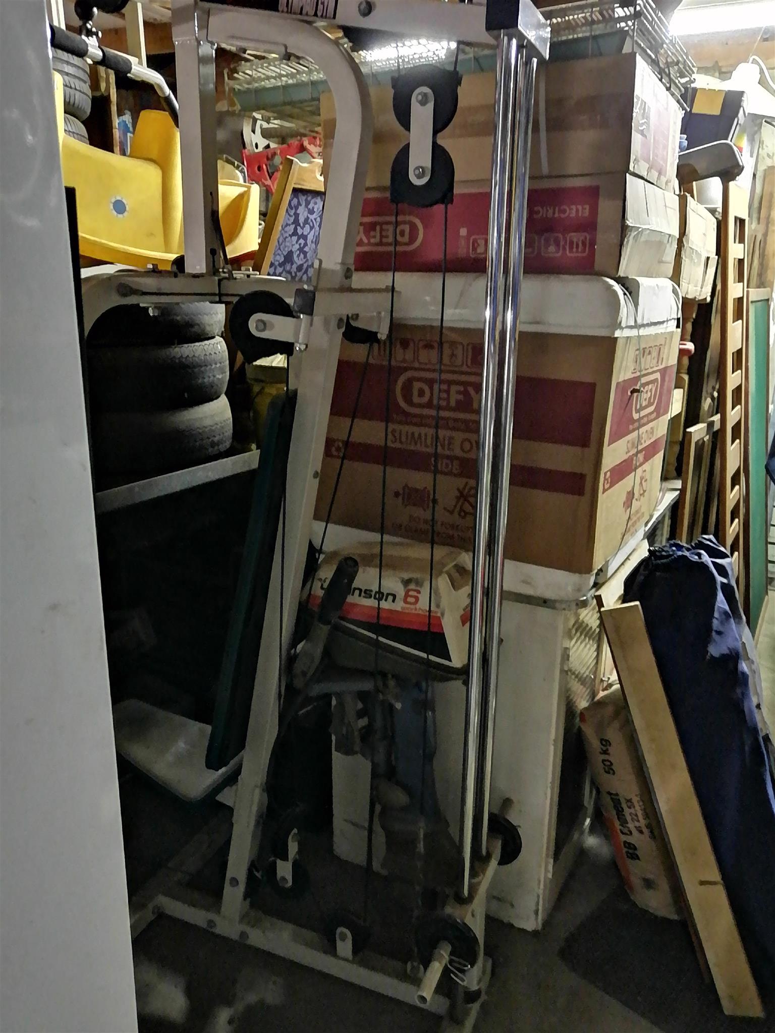Trojan gym equipment + bench press