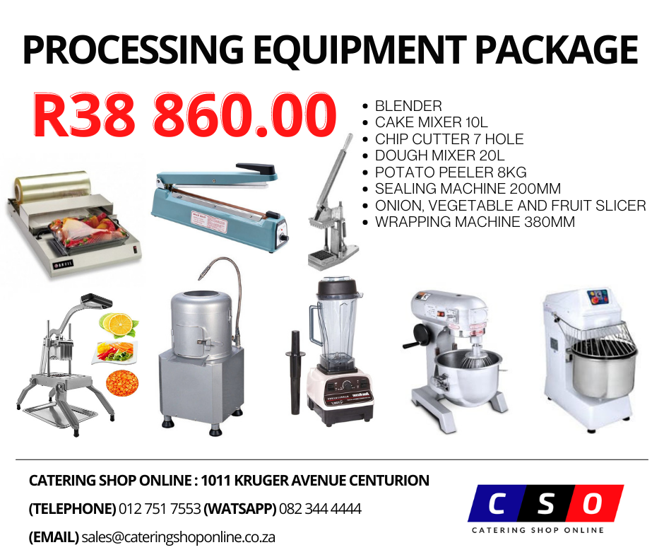Processing Equipment package