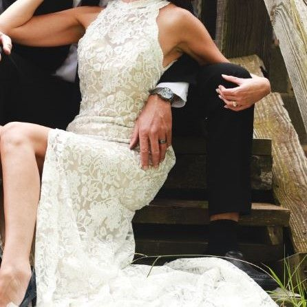 Lace wedding dress for sale