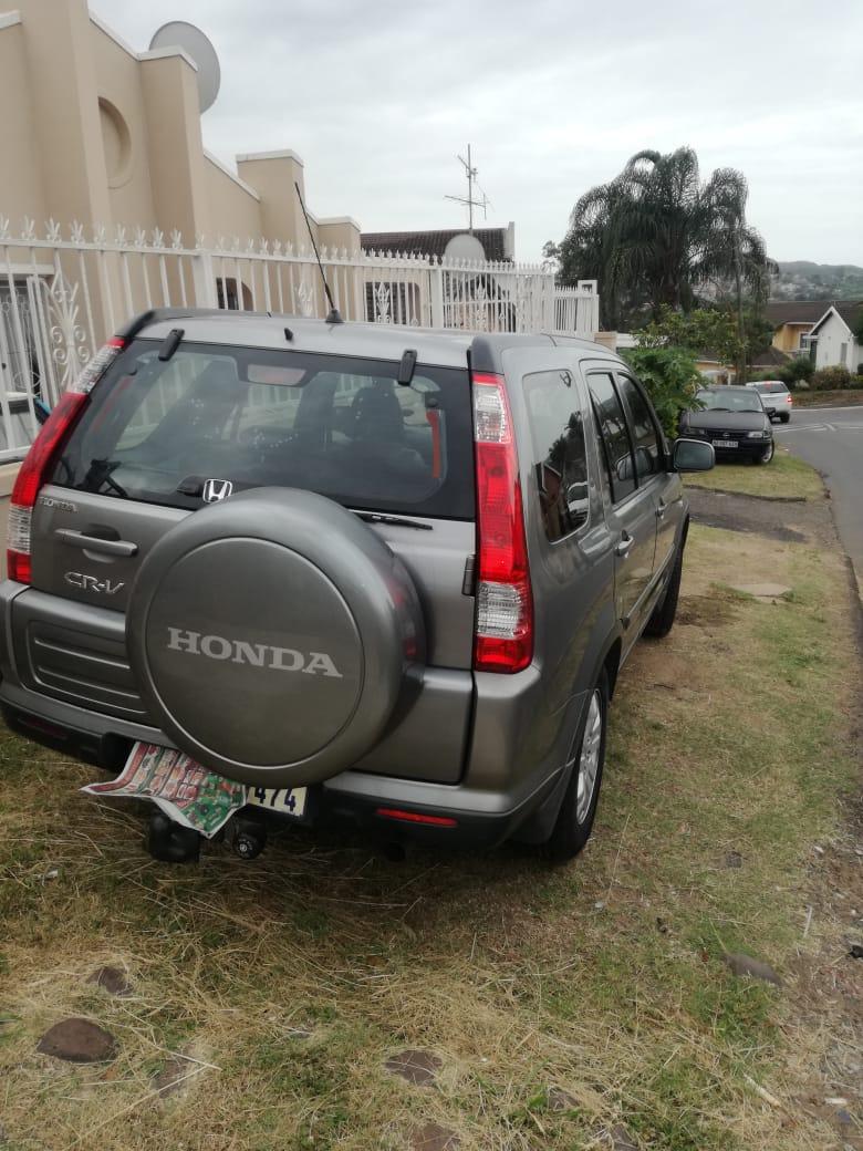 HONDA CRV  AUTOMATIC FULL LEATHERINTERIOR 2008 SILVER GREY EXCELLENT CONDITION