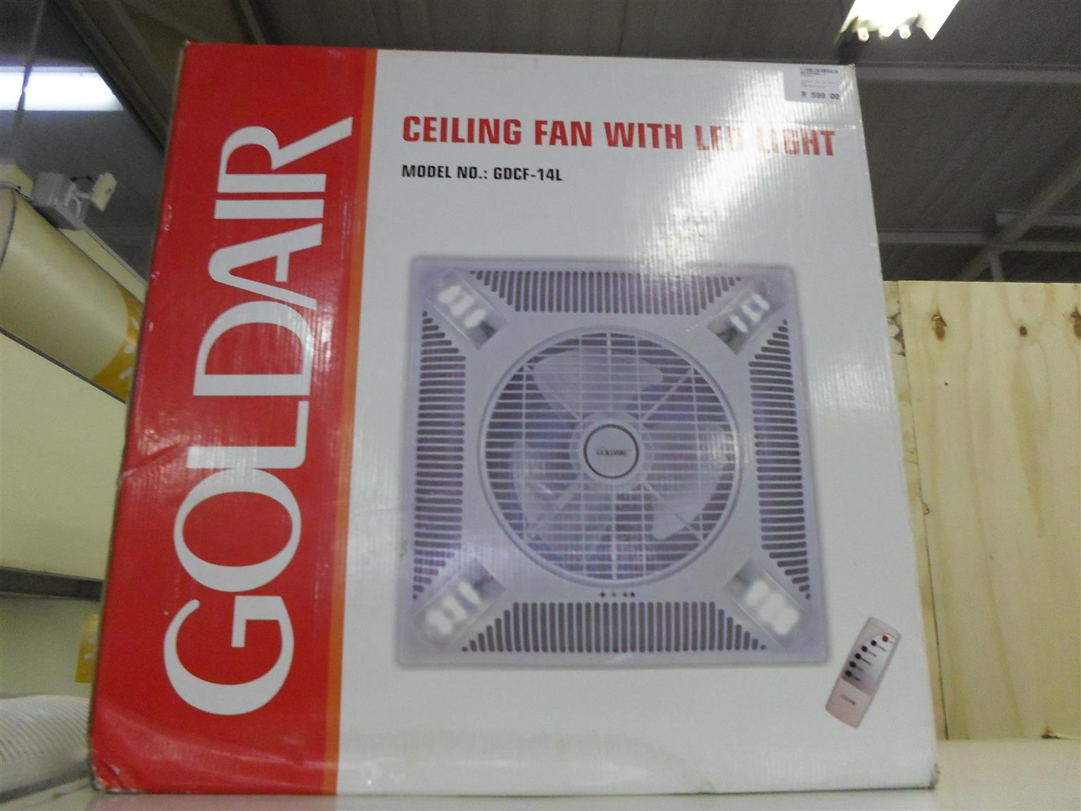 Goldair Ceiling Fan with LED Lights