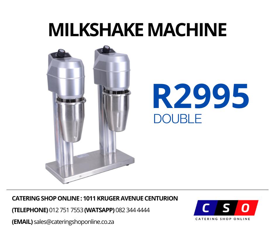 Double Milkshake Maker