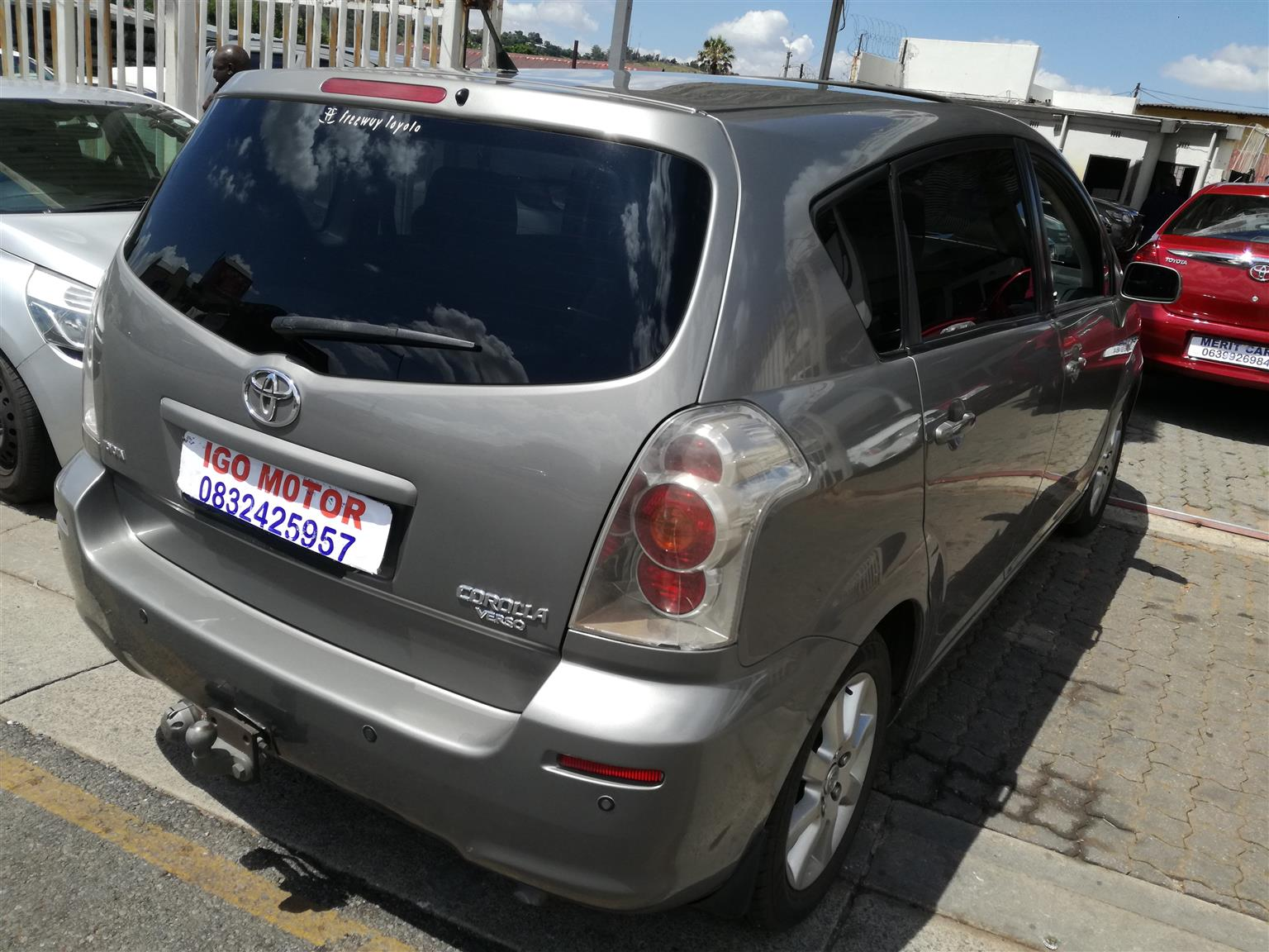 2008 Toyota Corolla Verso 180 TX