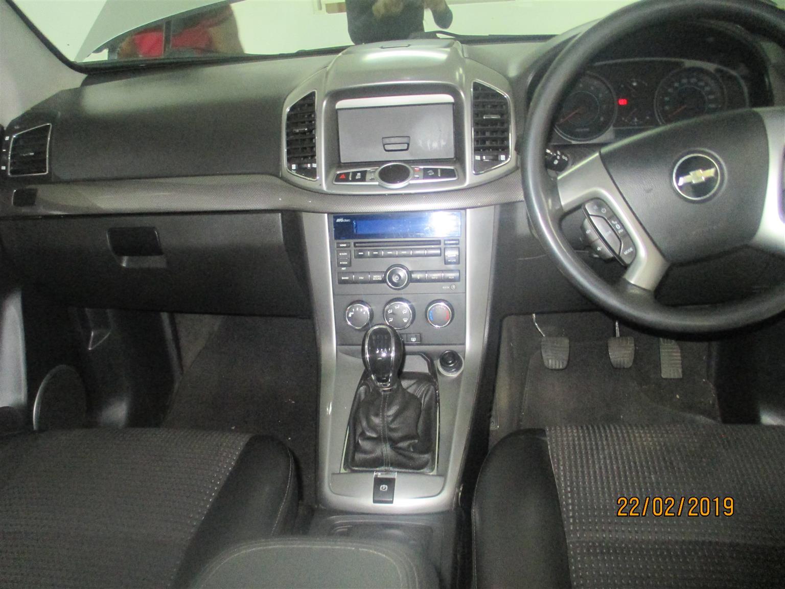 2012 Chevrolet Captiva 2.4 LS