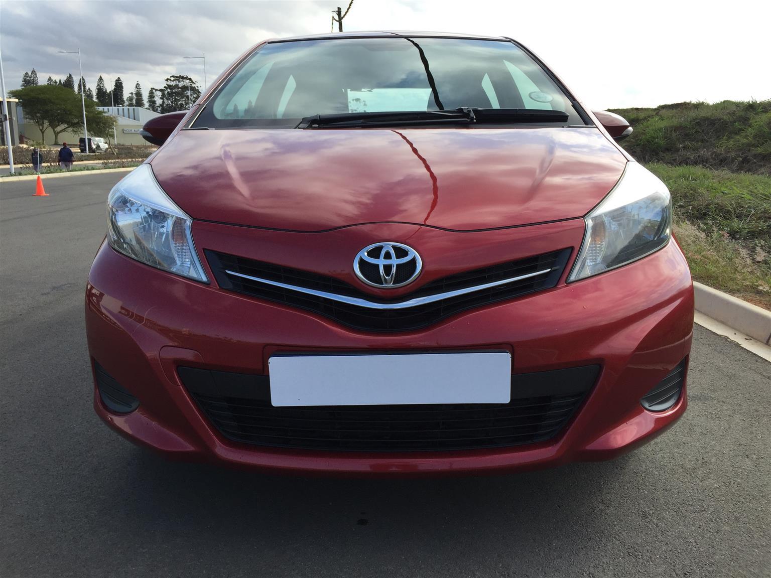 2012 Toyota Yaris 1.3