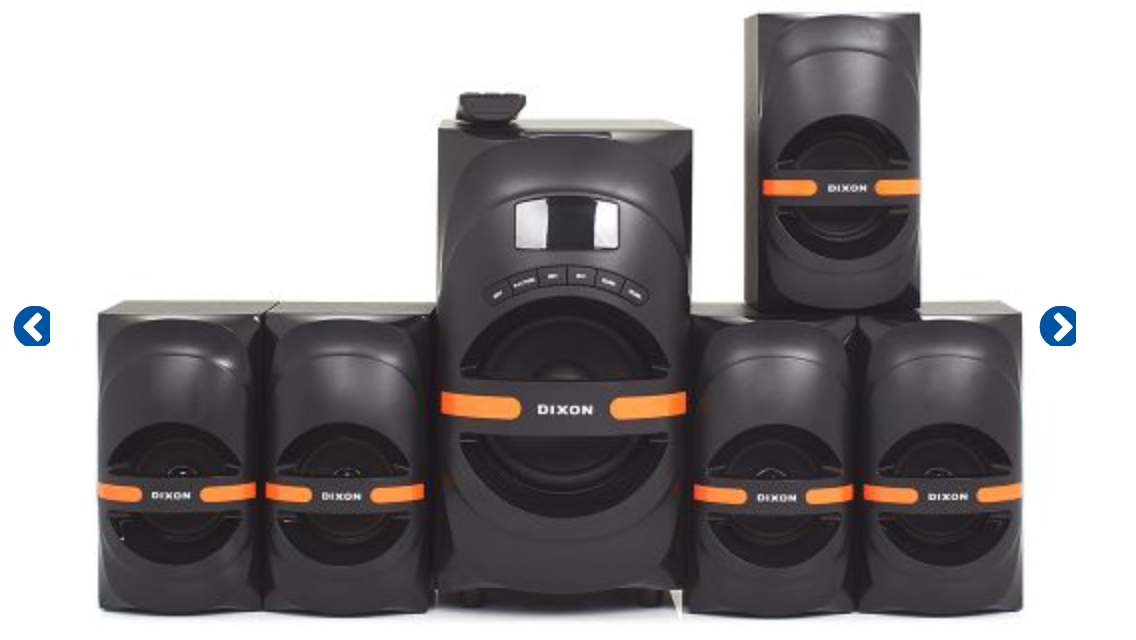 Built-in DiXON Multimedia 5.1 200W Surround Sound brand new and boxed!