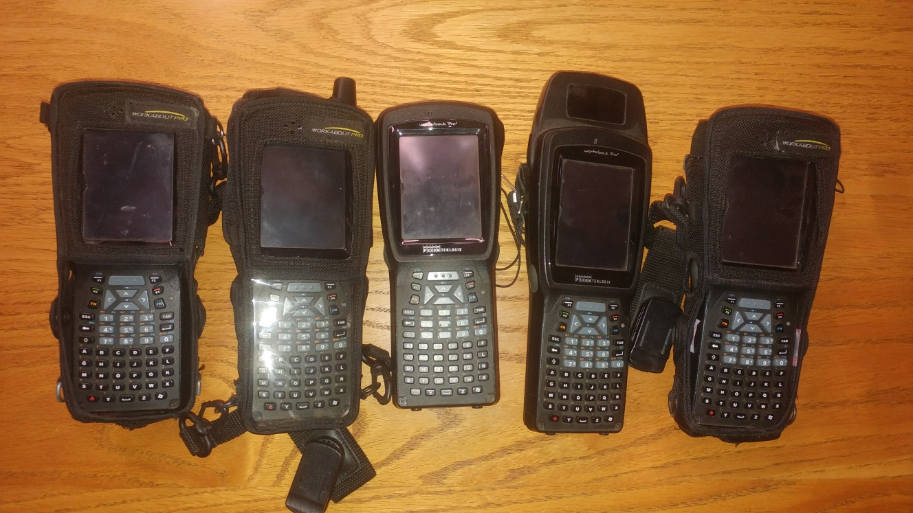 5 x Psion Workabout Pro3