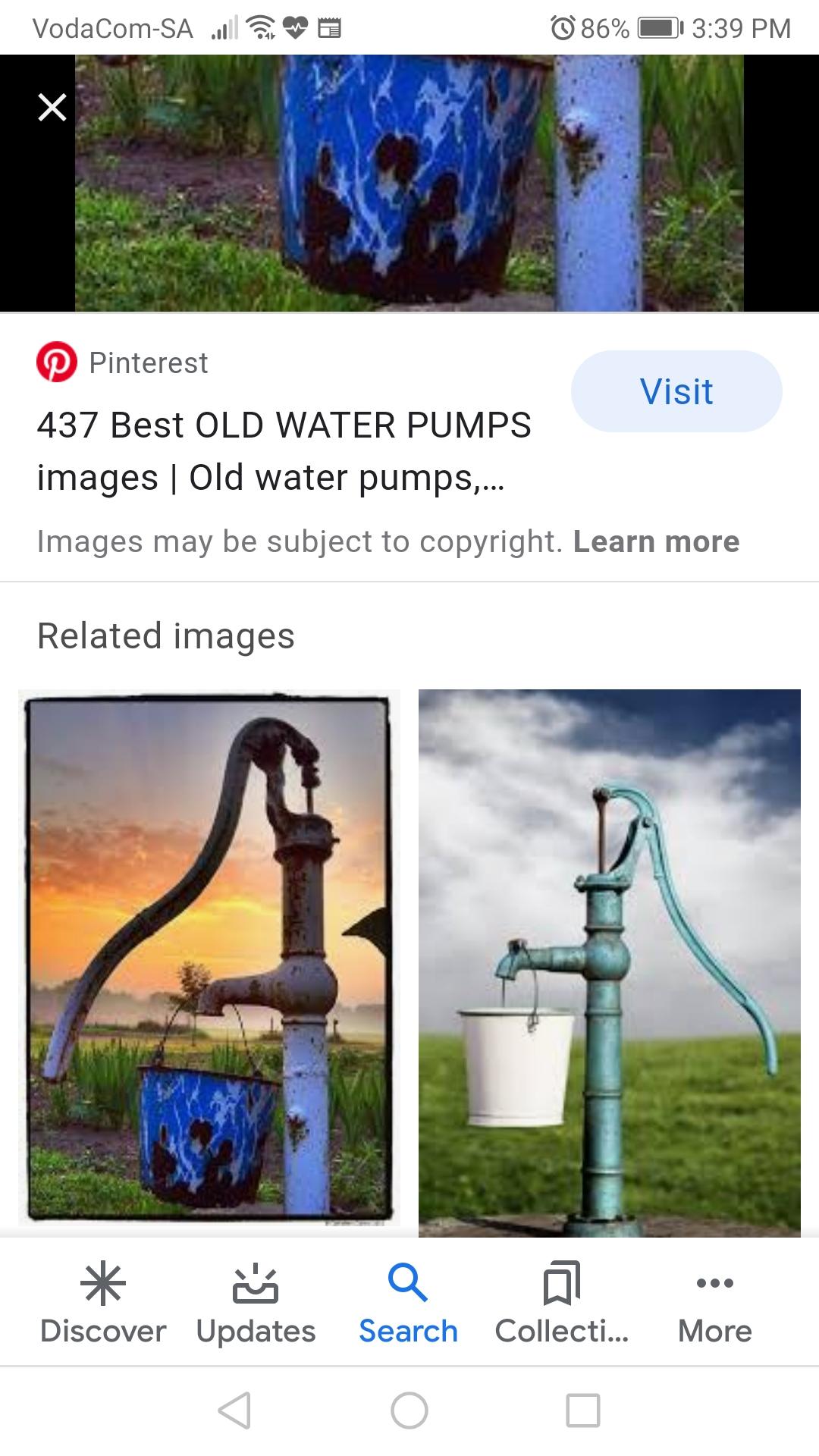 Metal Hand water pump