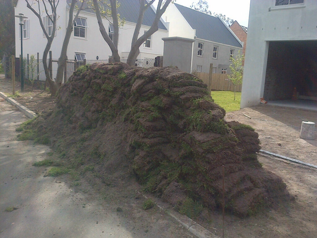 Garden refuse and rubble removal
