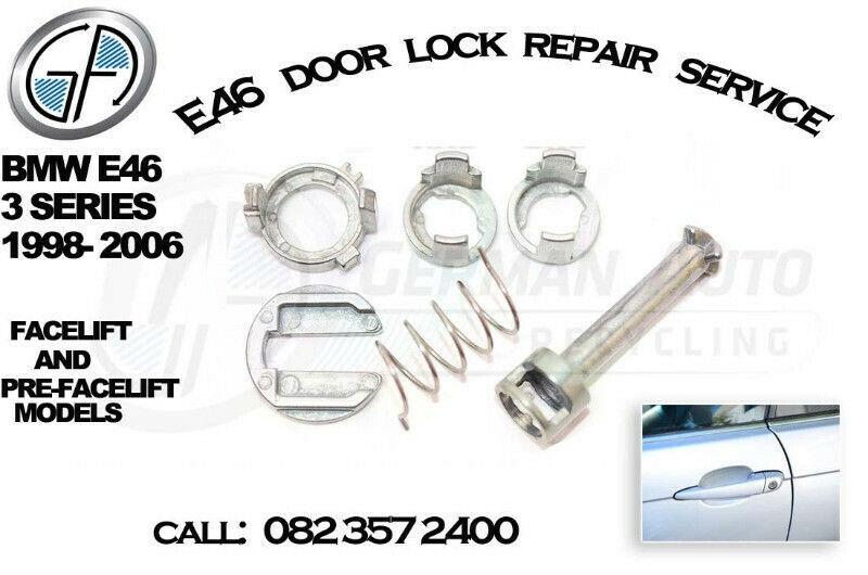 BMW E46 door lock repairs