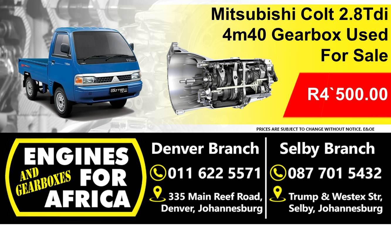 Mitsubishi Colt 2 8Tdi 4M40 Gearbox Used For Sale