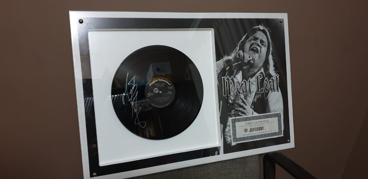 Meatloaf Signed LP