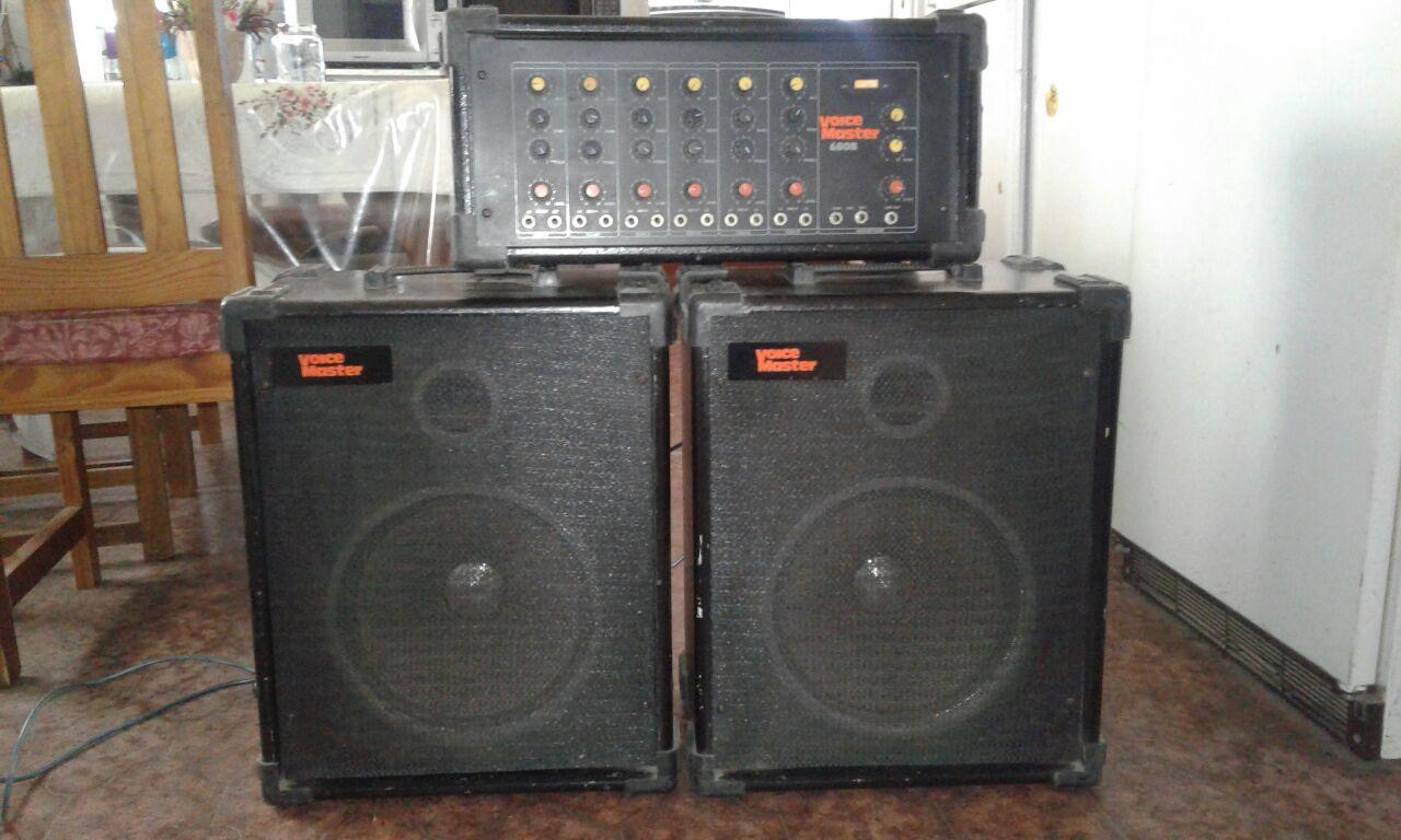 Voice Master 680B Amplify system