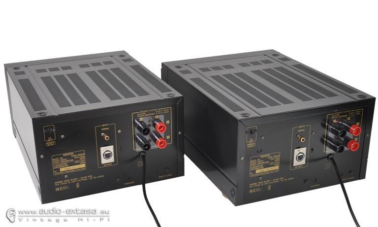 DENON POA 4400 MONO BLOCK POWER AMPLIFIERS