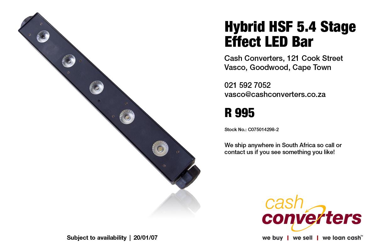 Hybrid HSF 5.4 Stage Effect LED Bar