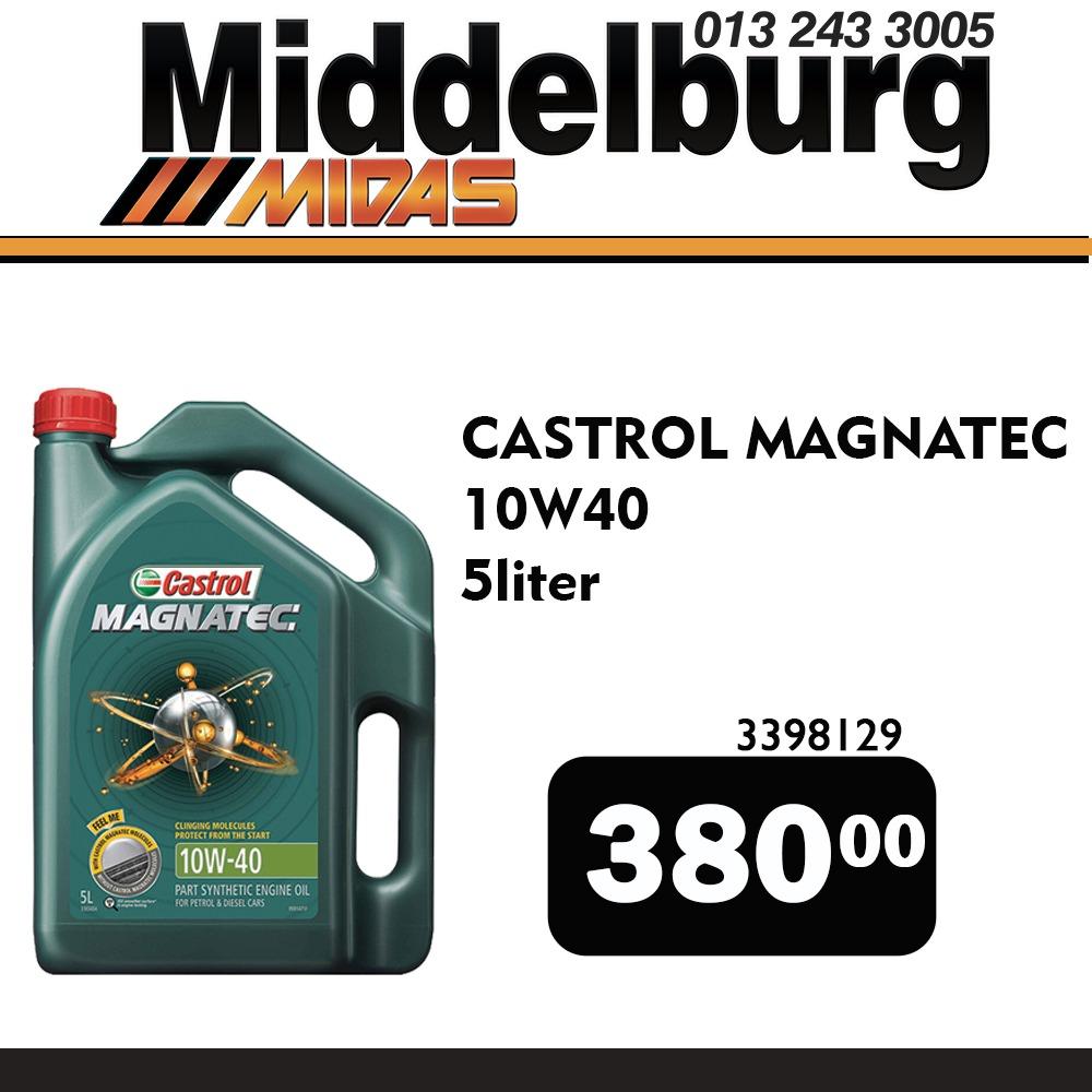 Castrol Magnatec 5 Liter