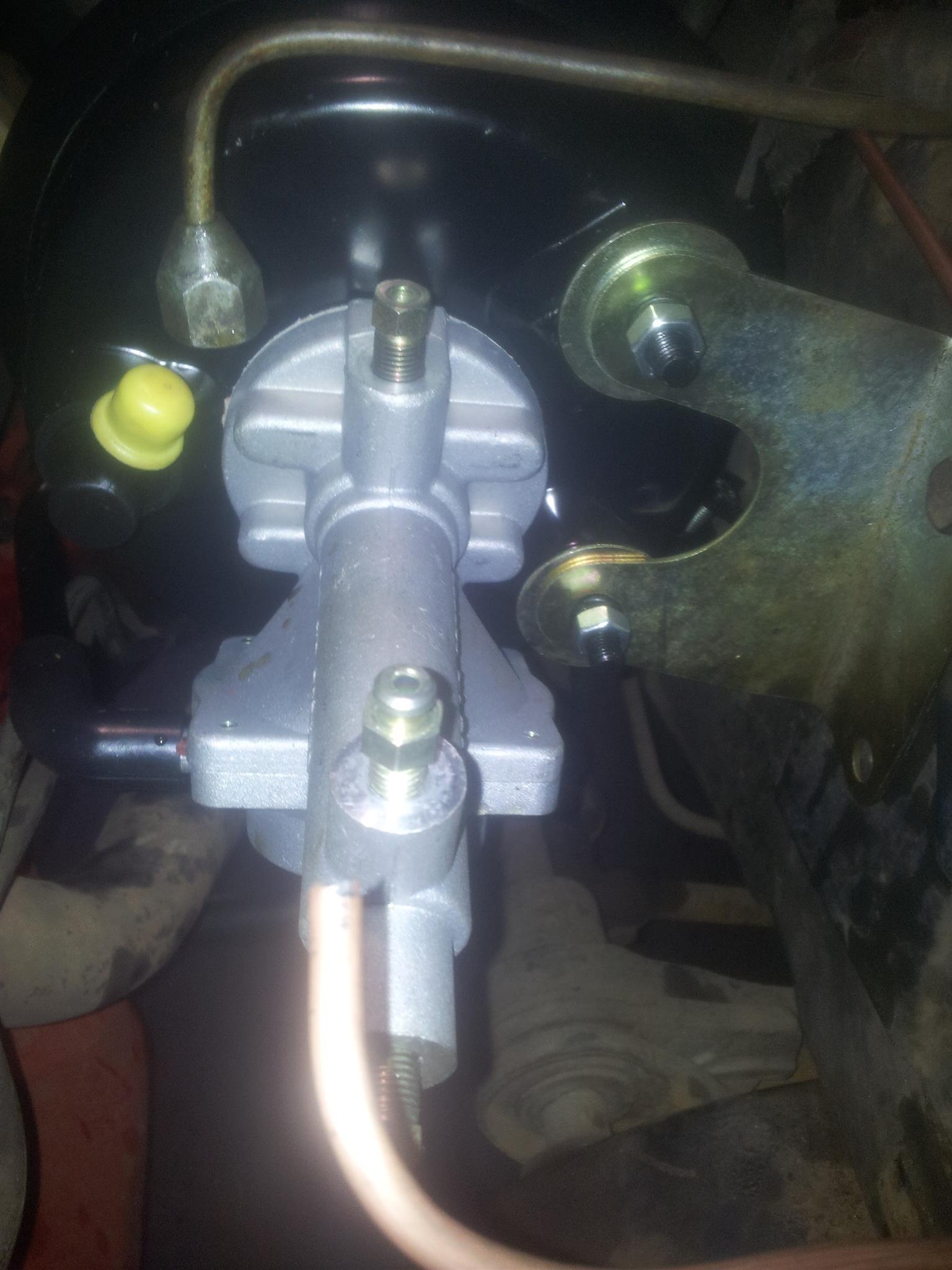 Chrysler Valiant brake booster