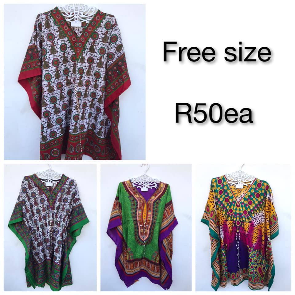 Various colored poncho's for sale