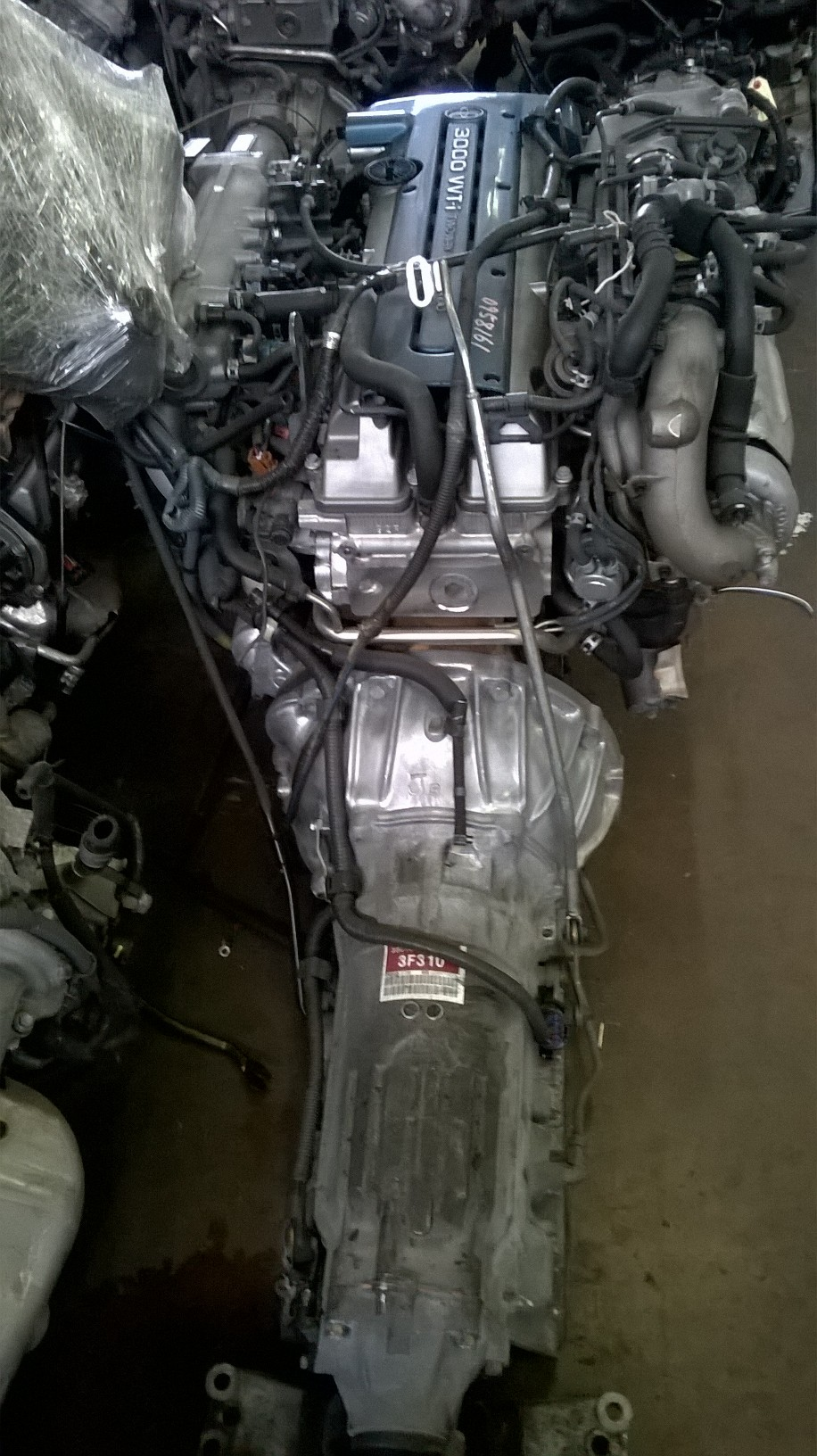 Toyota Supra 3.0 VVTi Twin Turbo Engine & Auto Gearbox  # 2JZ
