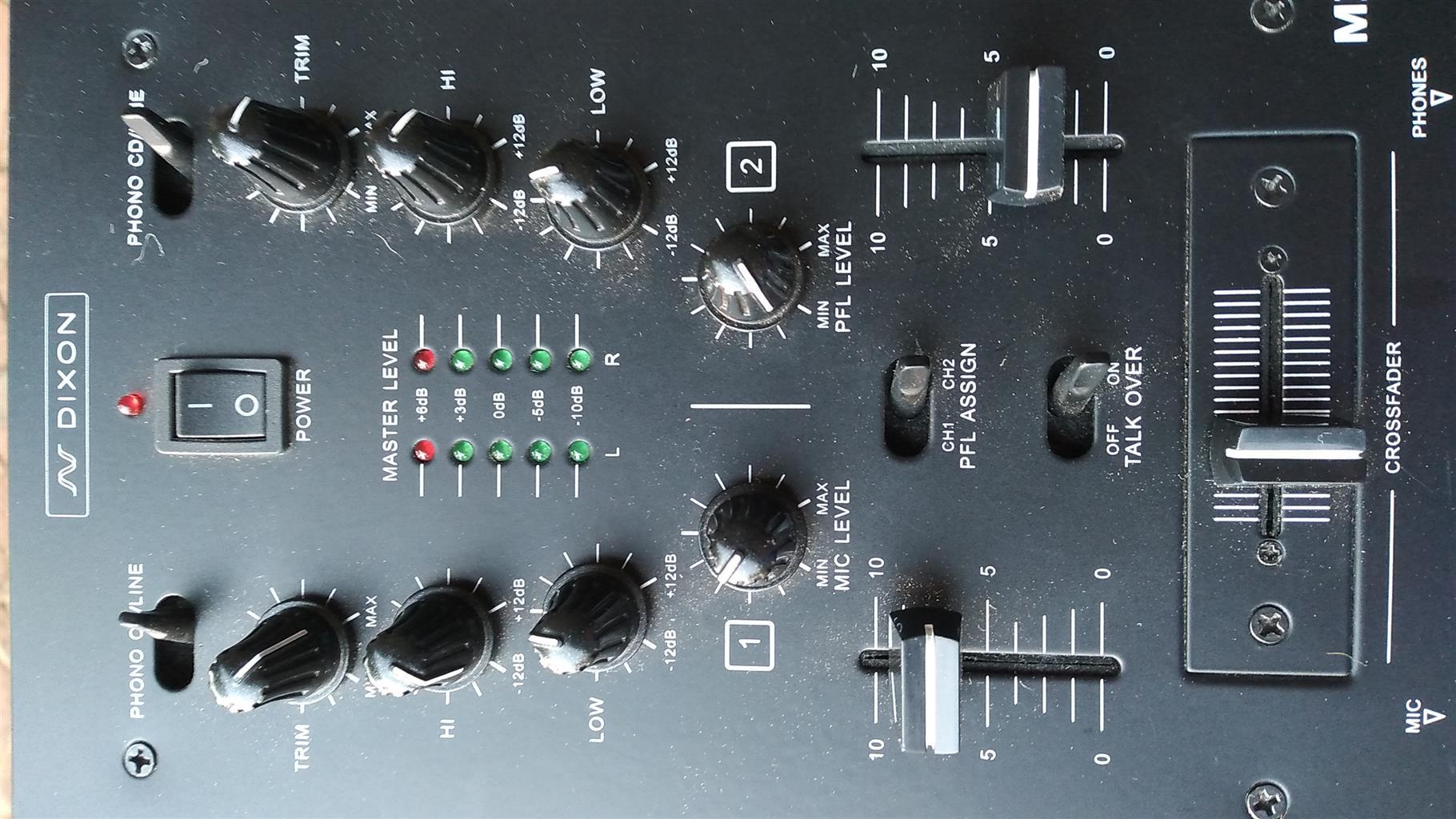 2 Channel Mixer  - Urgent Sale