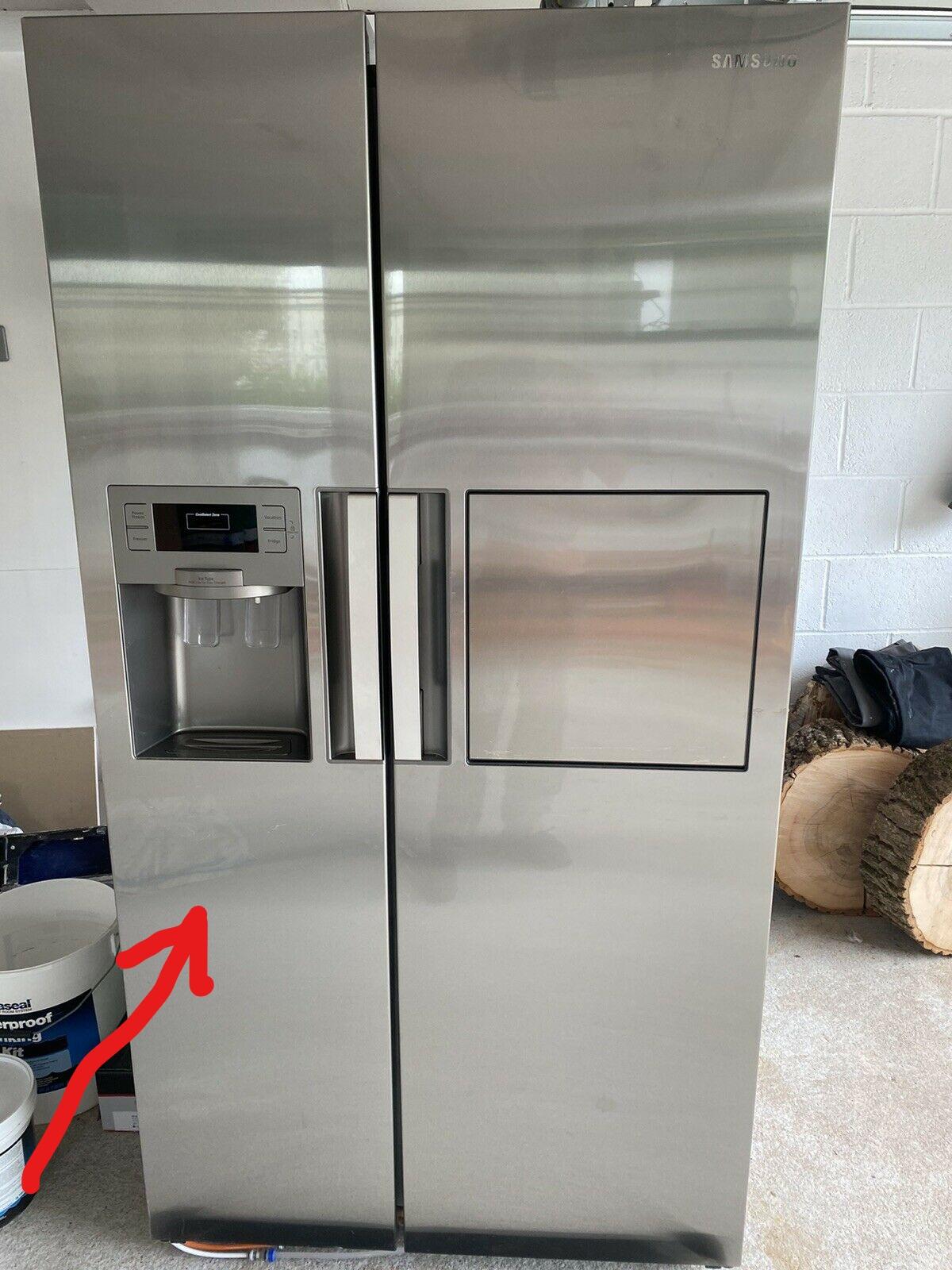 Freezer Door - for Samsung Fridge ((Model : RSH7PNRS)