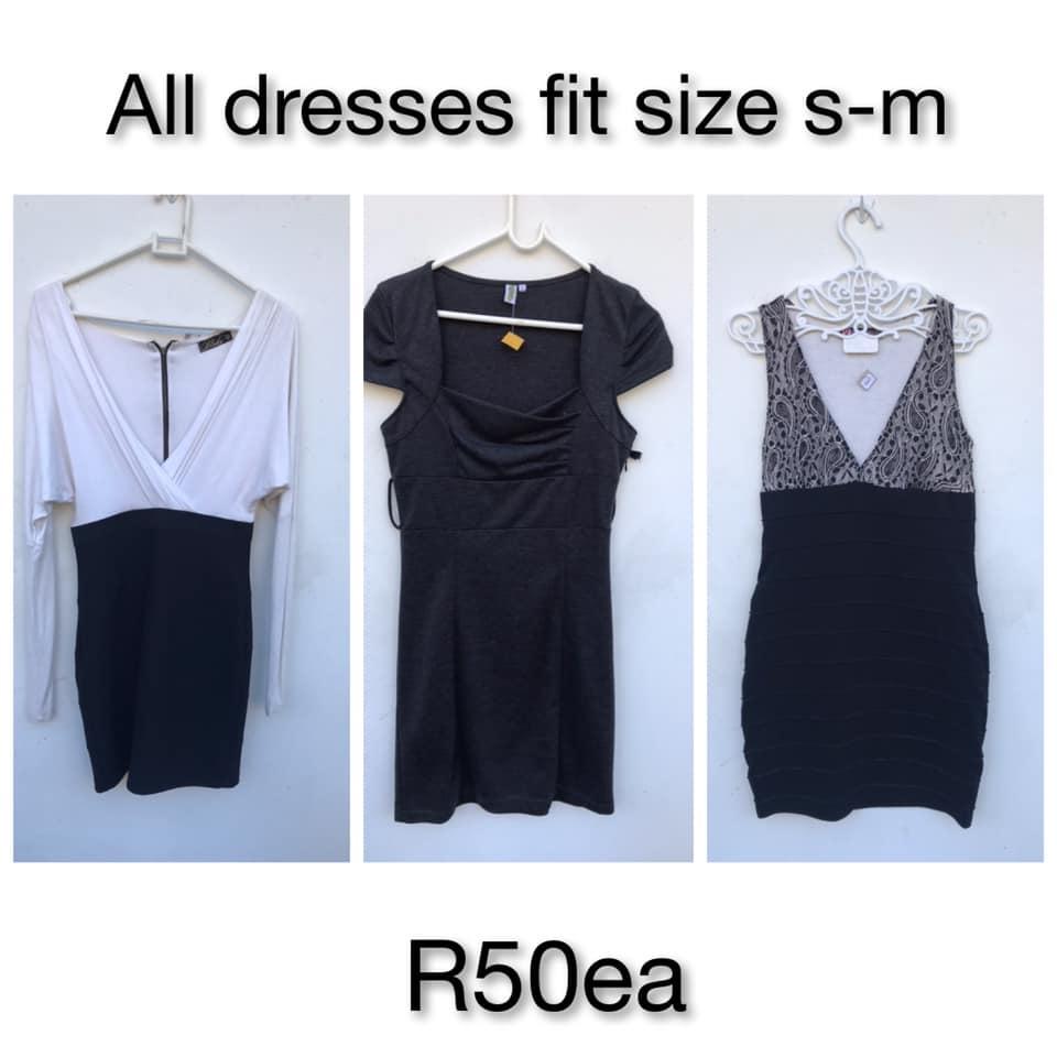 Black and white summer dresses