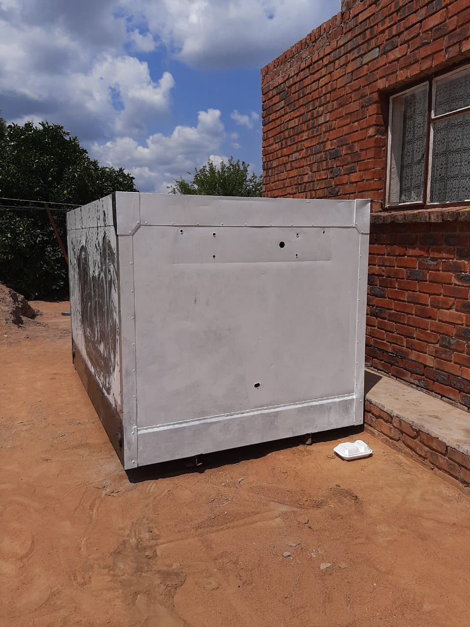 Cold room box for sale in good condition.