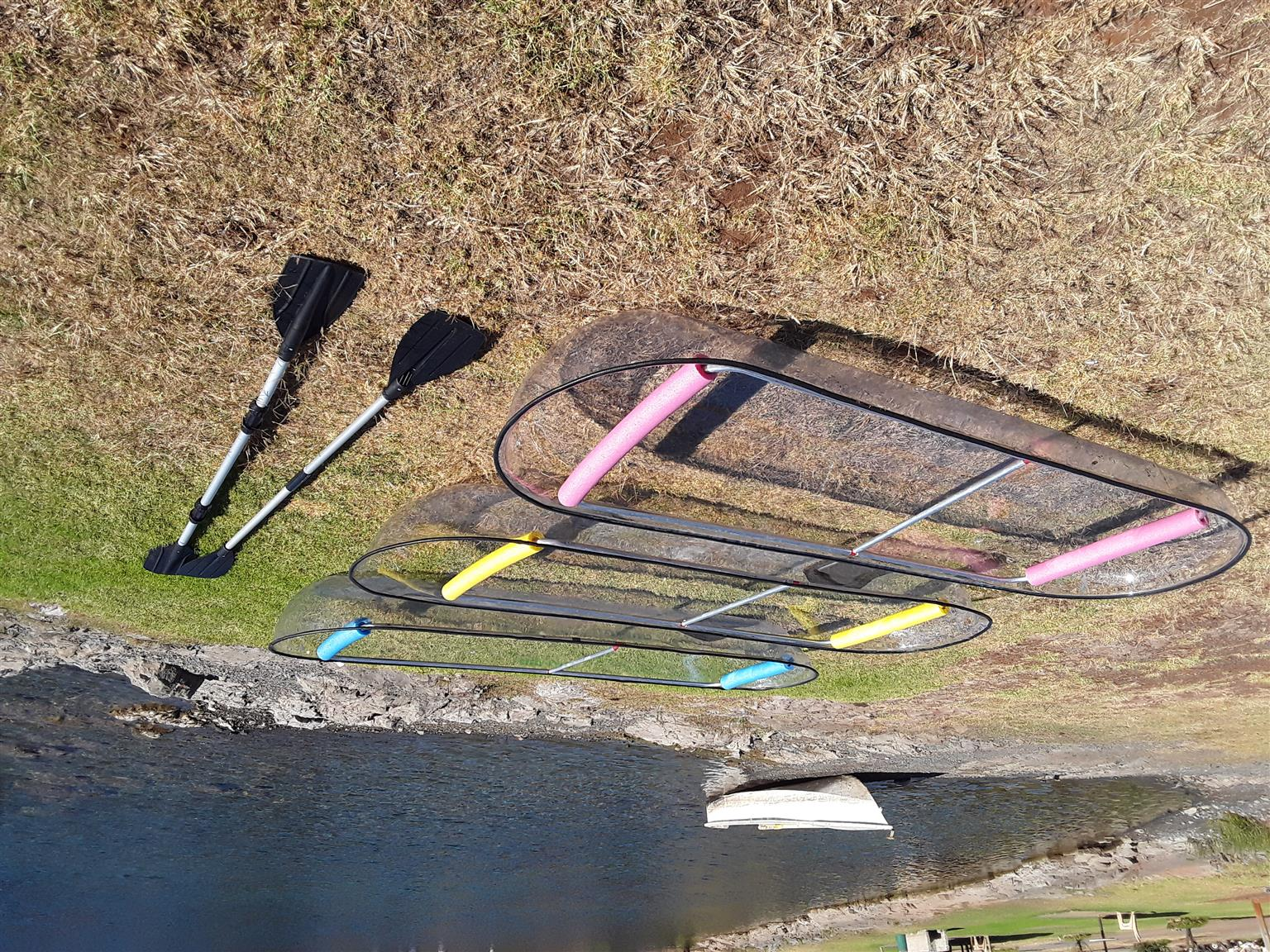 SEE THROUGH KAYAK'S FOR SALE - UNDER WATER EXPERIENCE