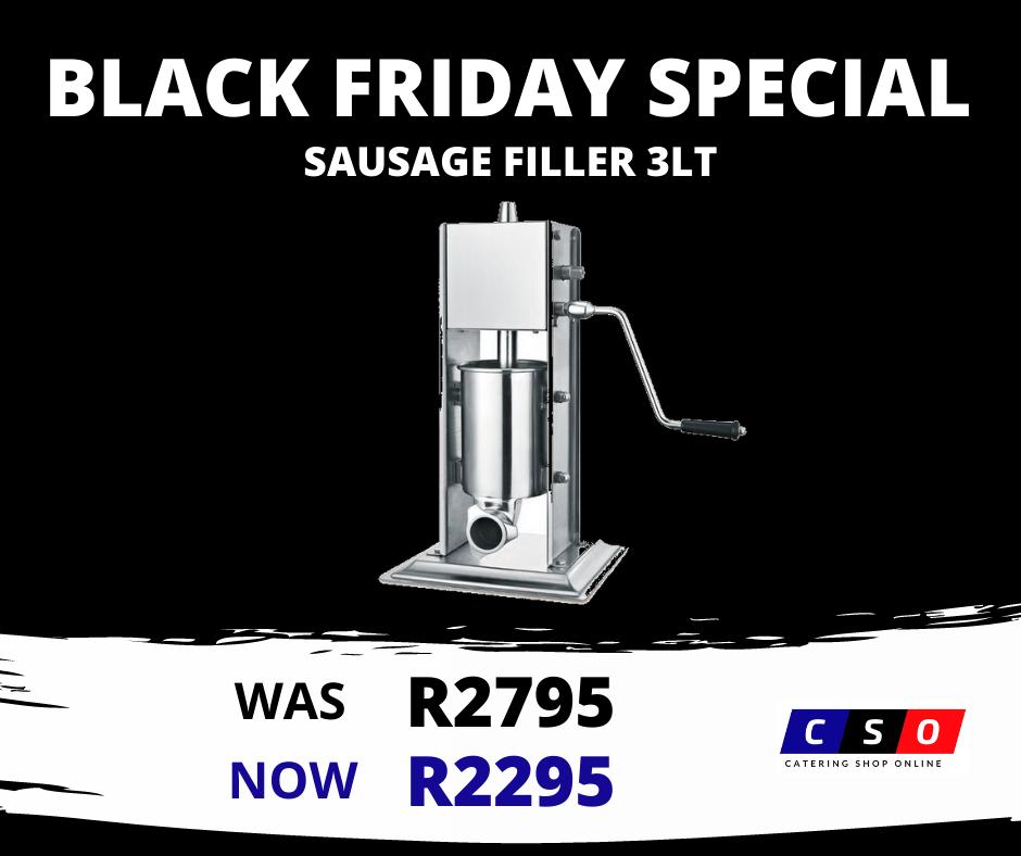 Black Friday Sausage Filler Special