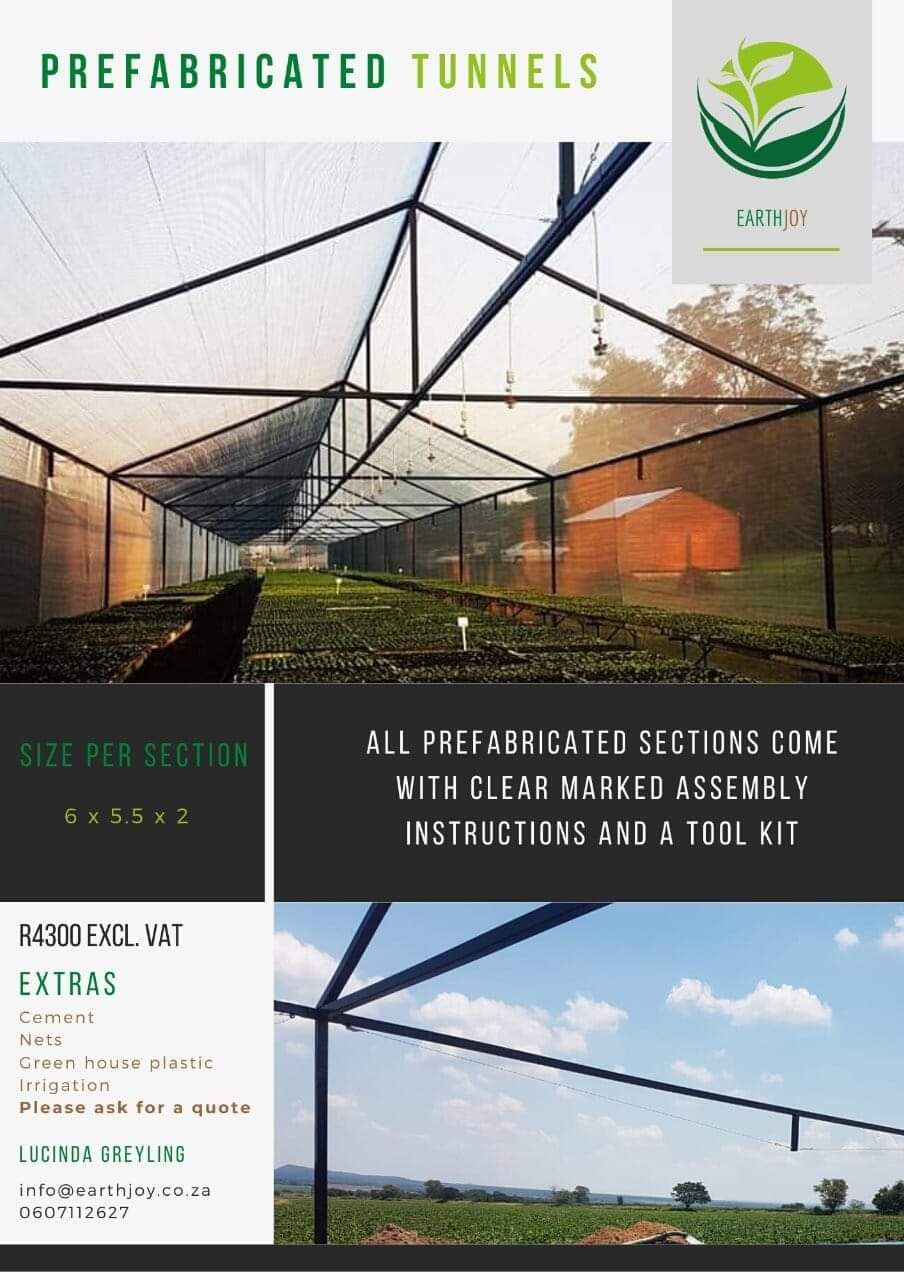 Prefabricated Tunnels and Green houses