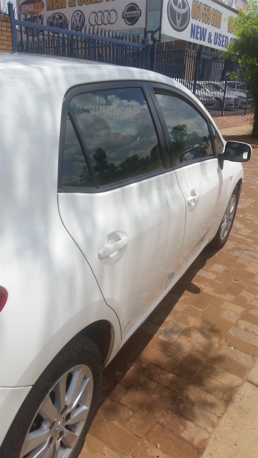 2009 Toyota Auris 2.0D 4D RX