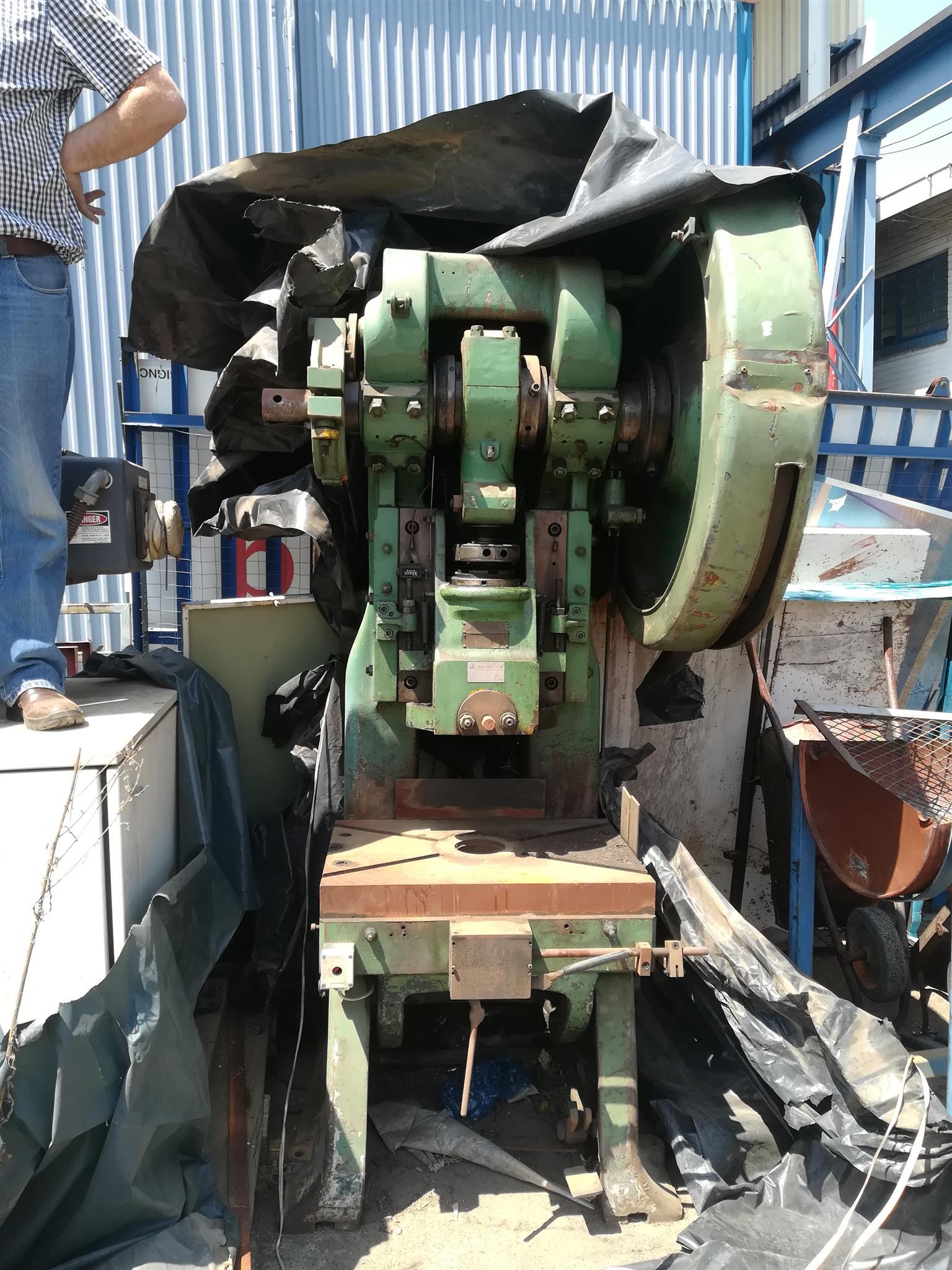 HME 65 ton eccentric press for sale