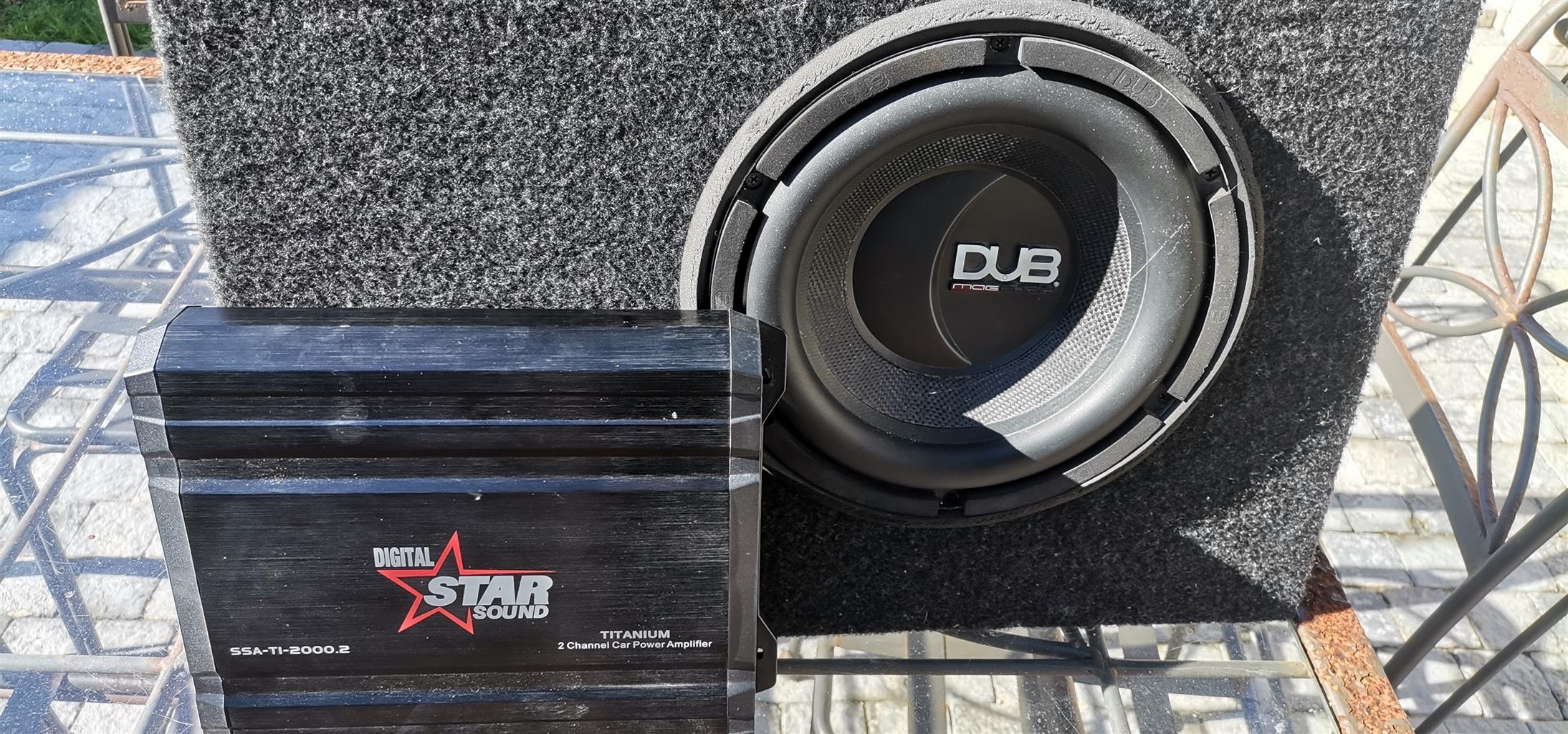 Dub, 10 inch sub and Starsound amp