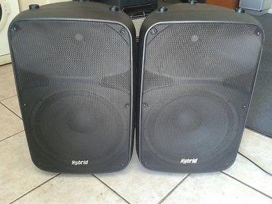 Hybrid 12in passive speakers