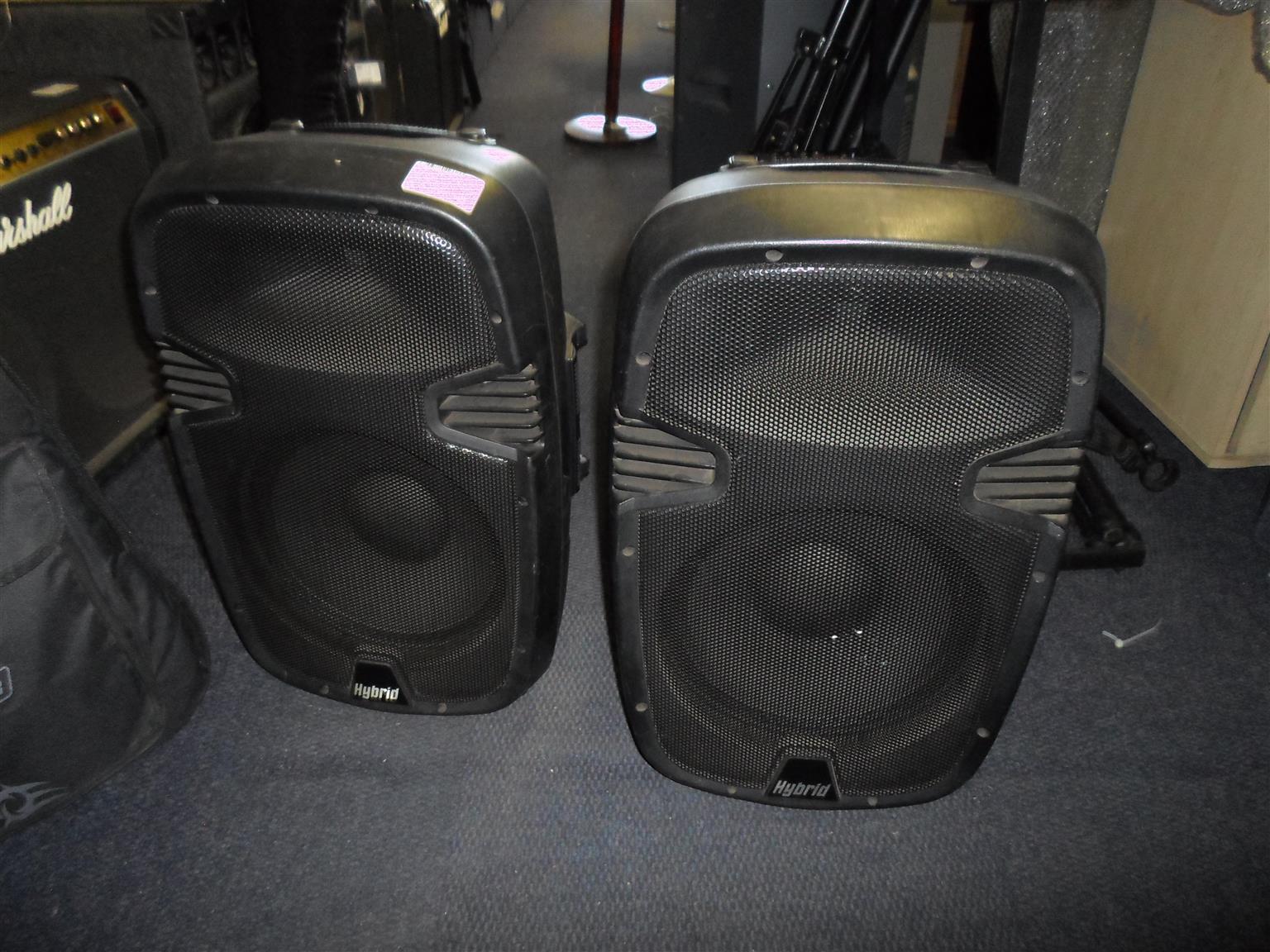 Hybrid PM-12 Speakers