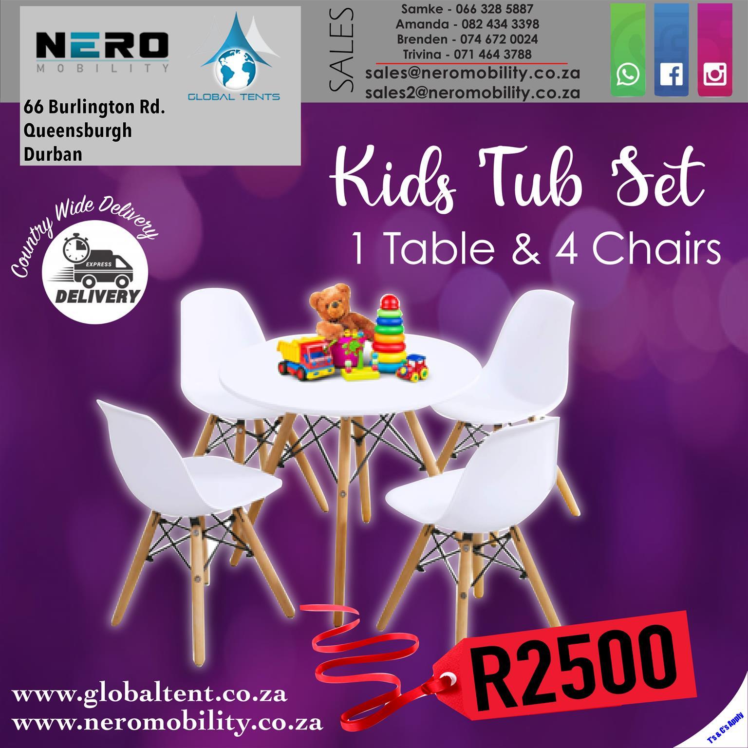 Kids Tub Set