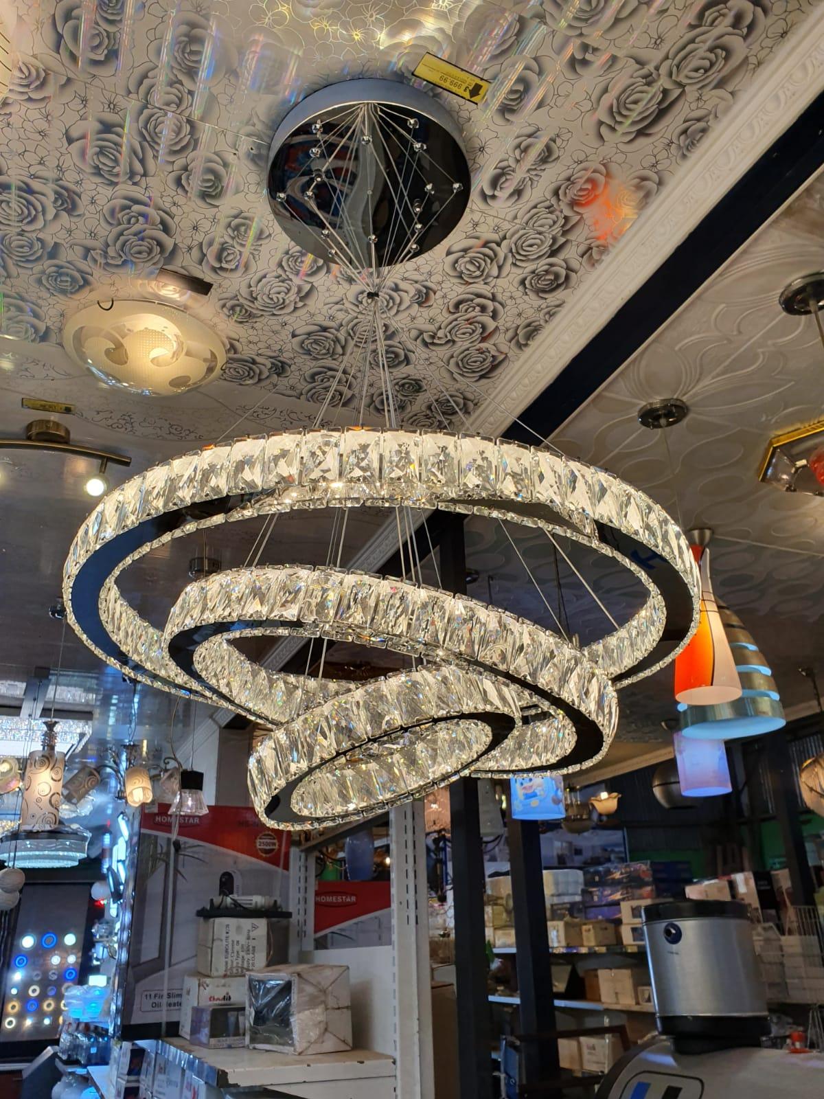UFO crystle chandelier
