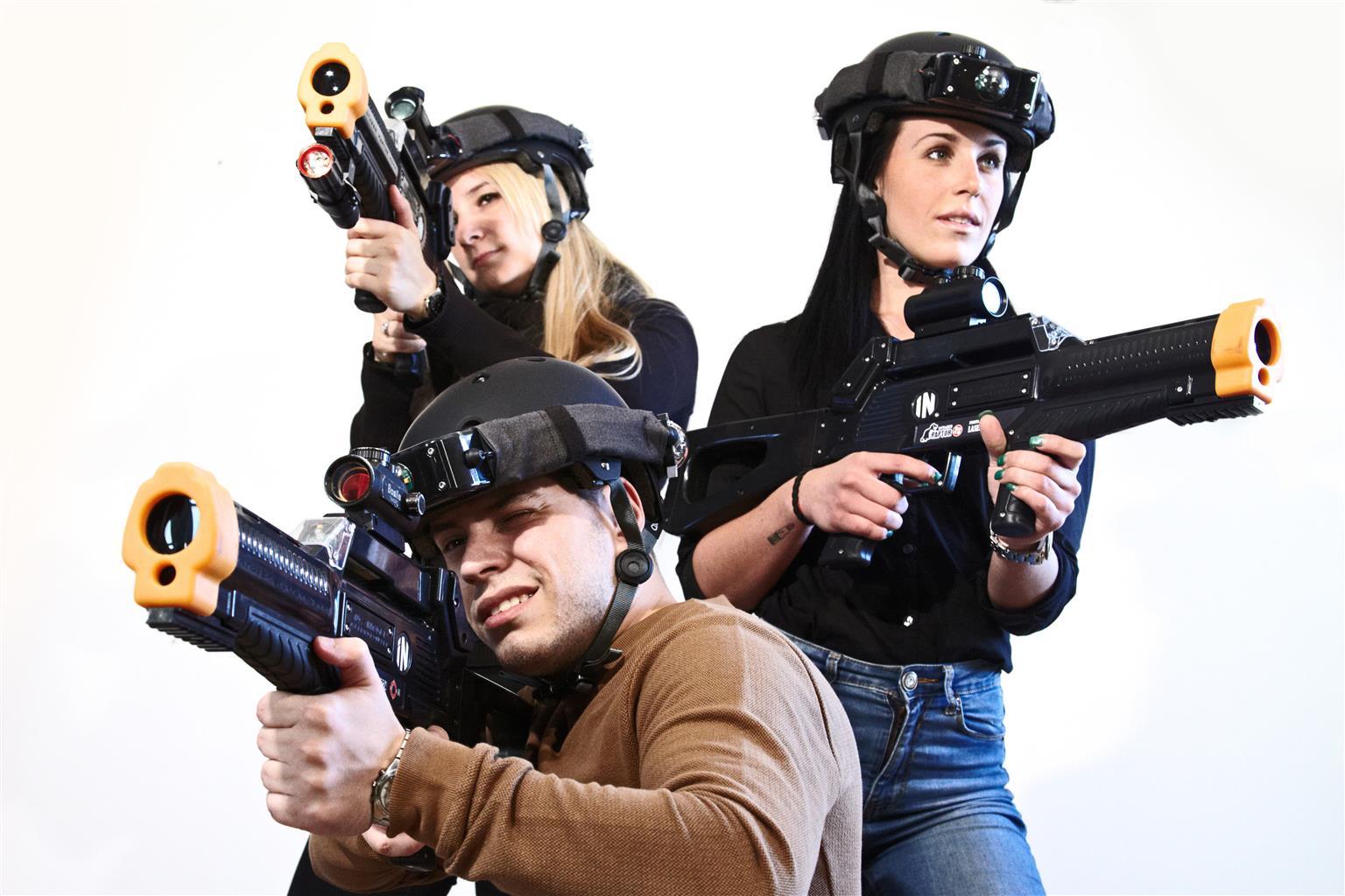 Laser Tag Equipment