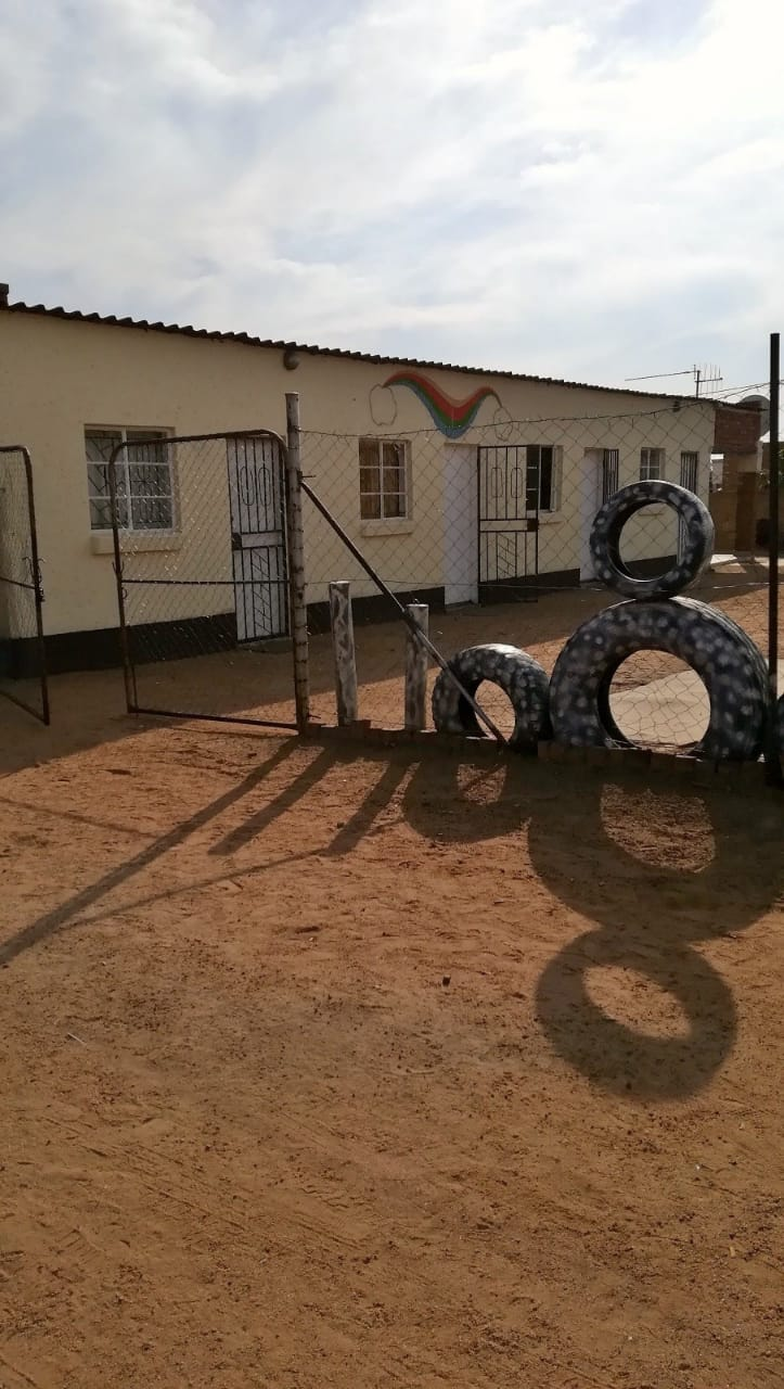 Stand with 4 separate rooms situated in Soshanguve