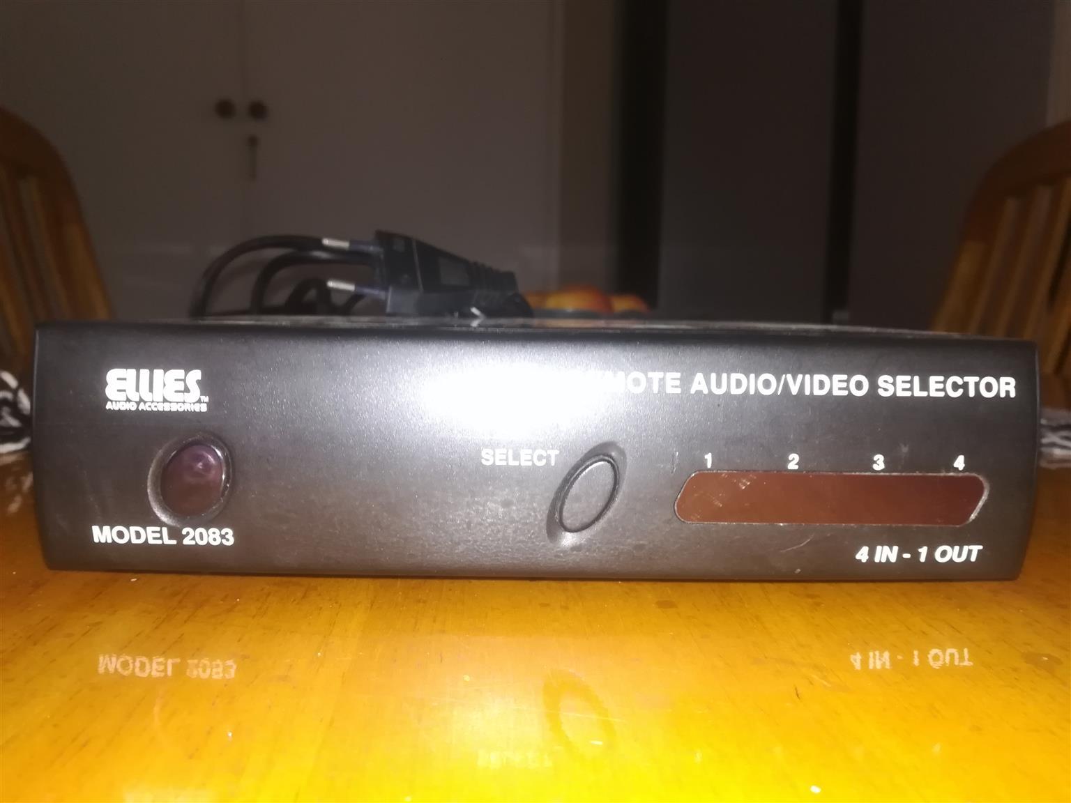 Ellies Remote Audio Video Selector