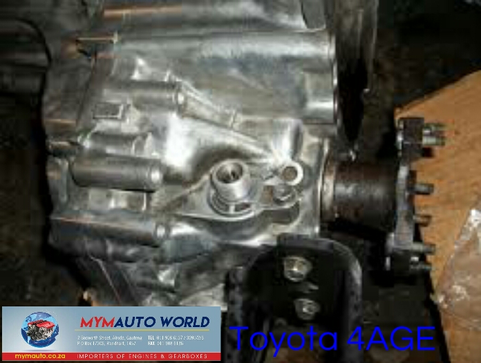 Imported used TOYOTA 4AGE AUTOMATIC gearbox Complete