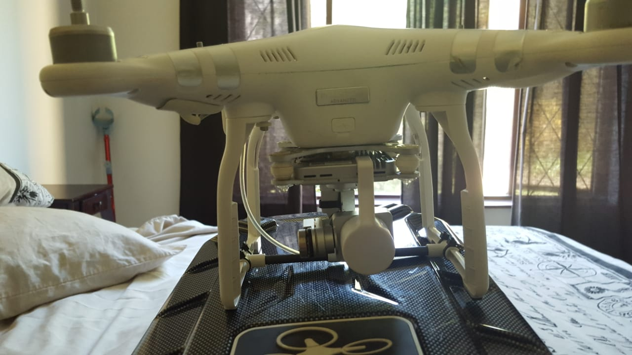Phantom 3 Advanced Drone + Accessories and extras