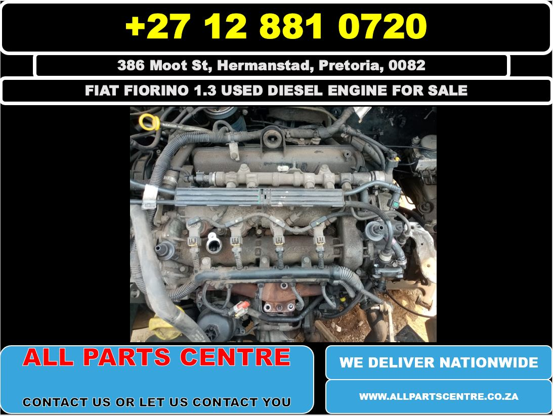 Fiat fiorino 1.3 used diesel engine for sale
