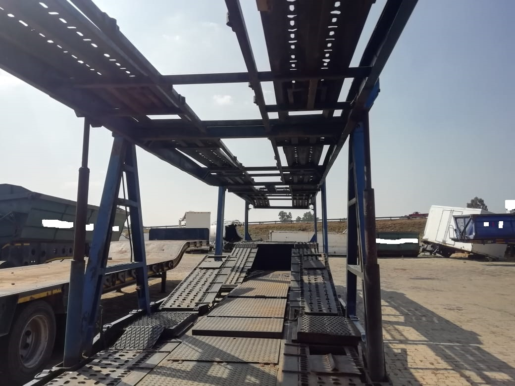 Used 1997 Double Axle Car Carrier Trailer for sale