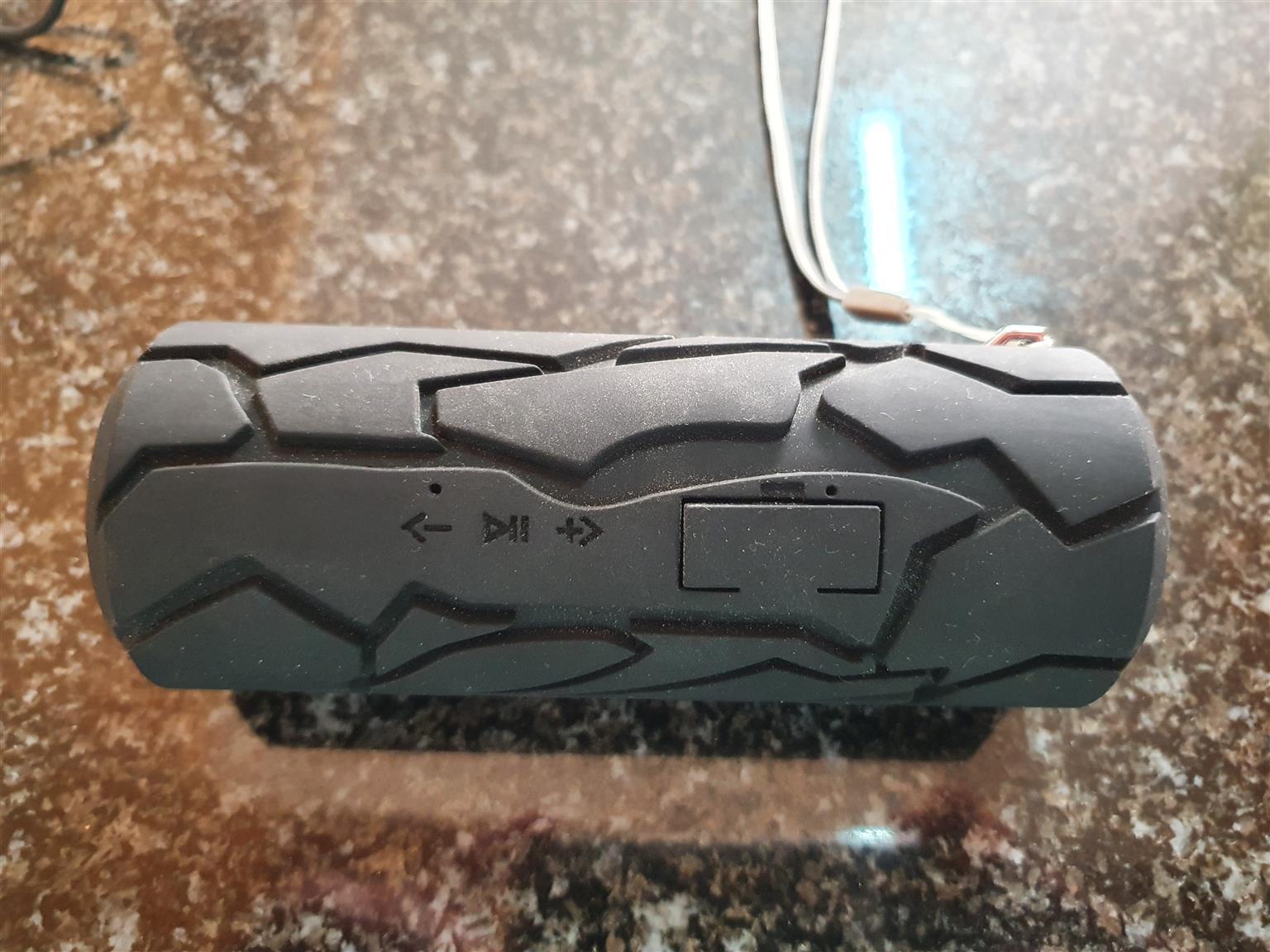 Silver Crest Bluetooth Portable Speaker