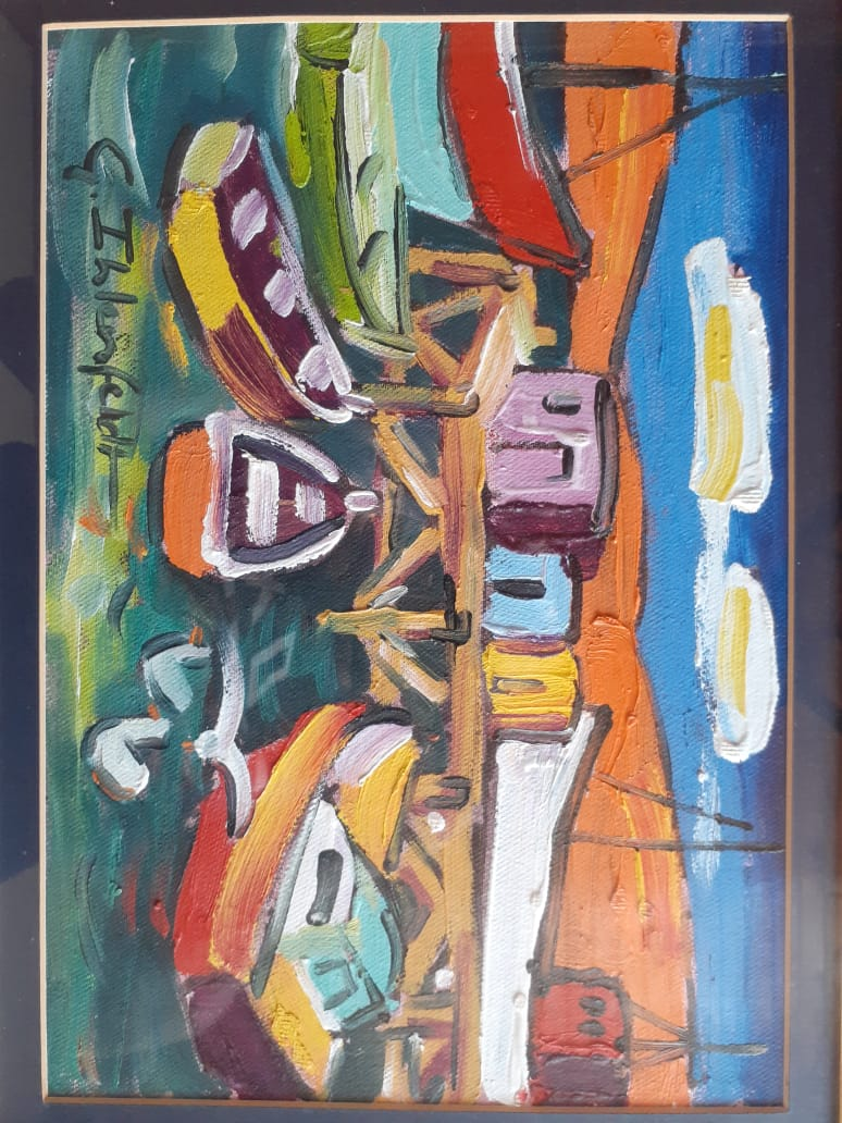 Gertjie Ihlenfeld Painting for sale
