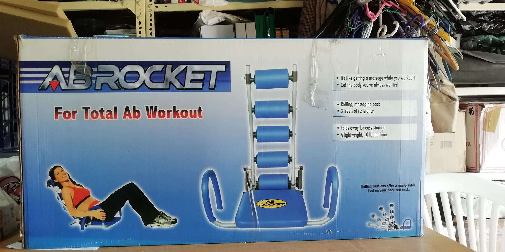 AB ROCKET EXERCISE MACHINE