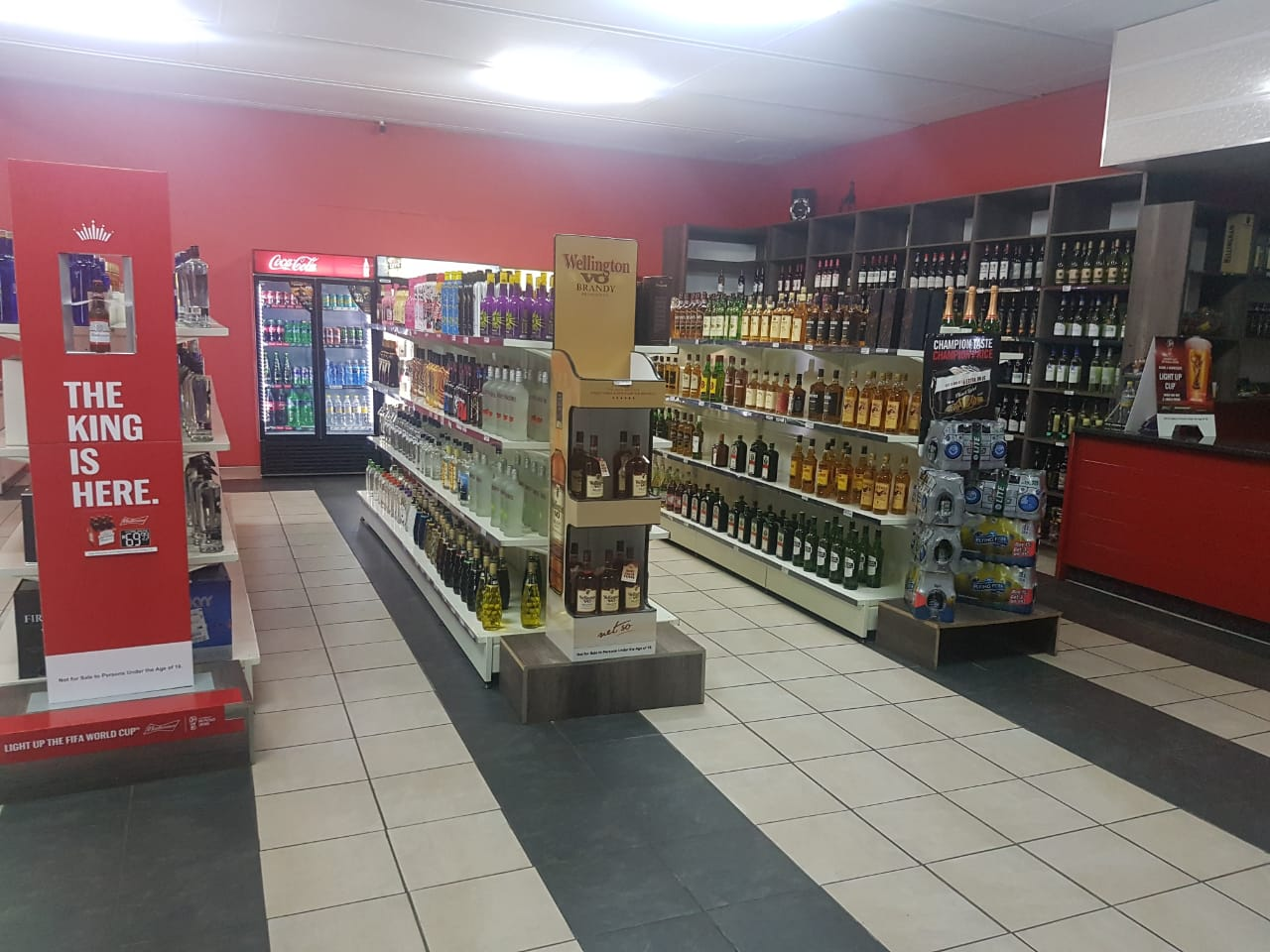 BOTTLE STORE FOR SALE