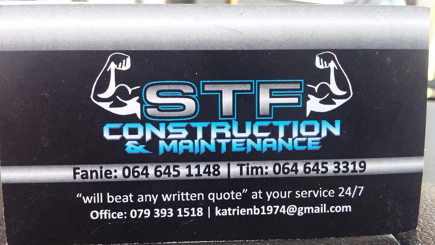 SFT CONSTRUCTION & MAINTENANCE